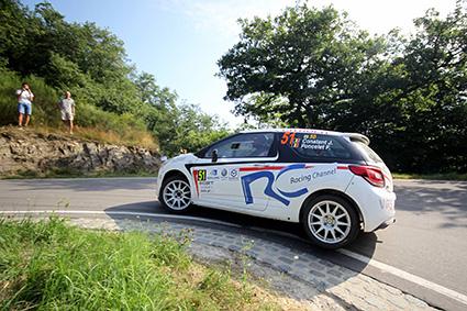Jérôme Constant, Rallye du Luxembourg 2018